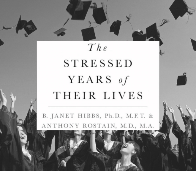 "Part II: Dr. B. Hibbs ""The Stressed Years of Their Lives"" on how to support college students"